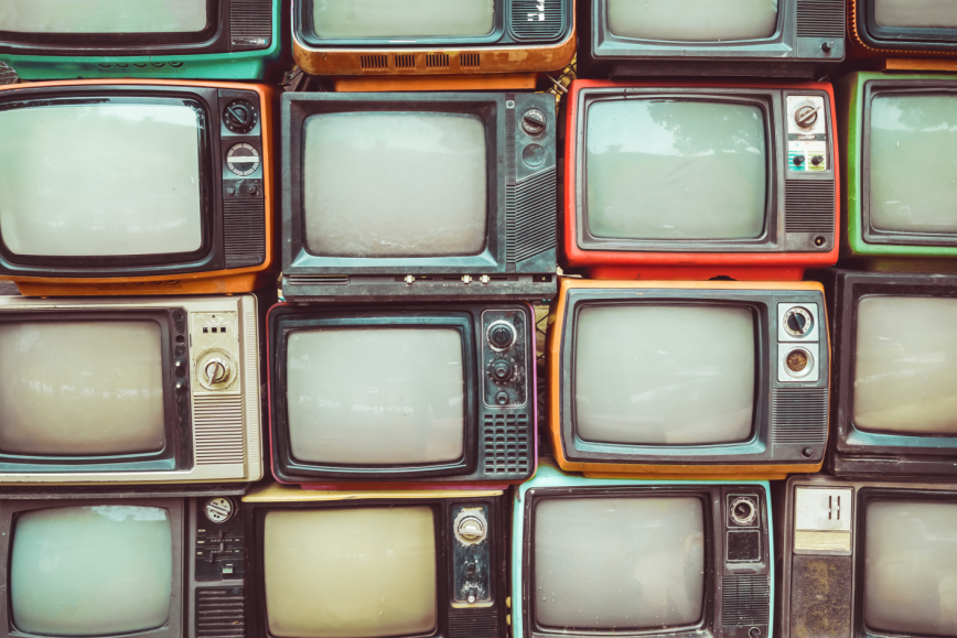 Practice English – watch TV