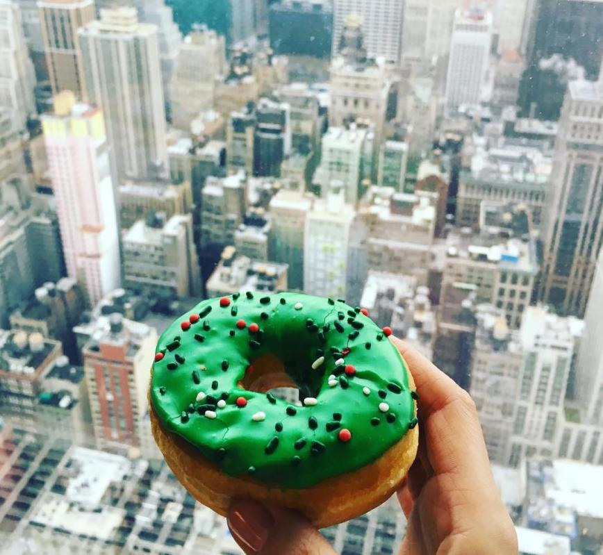 donut day New York