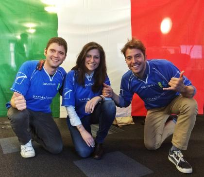 Are you patriotic like our Italian team? ;)