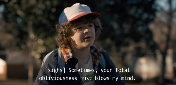 Anglais avec Stranger Things Blows my mind