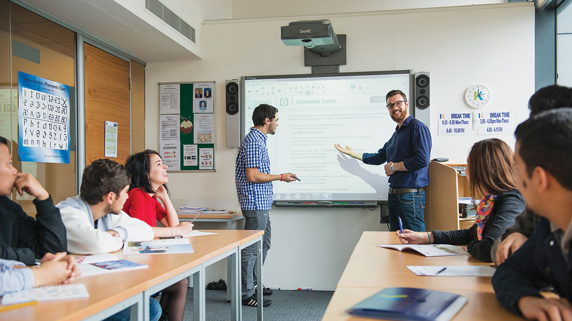 Training Courses for English Teachers | Kaplan International