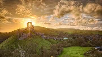 Corfe Castle UK