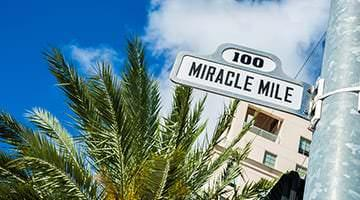 Miracle Mile Miami