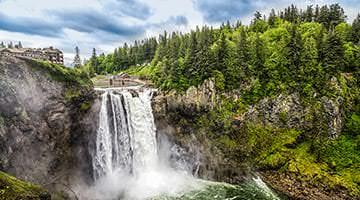 Snoqualmie falls Seattle