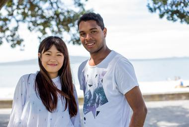 Kaplan International students in Auckland