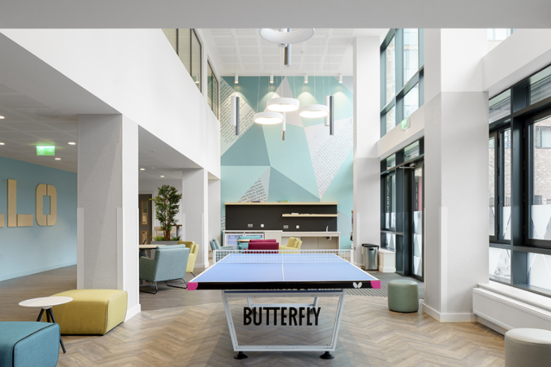 Ardcairn House: ping pong table