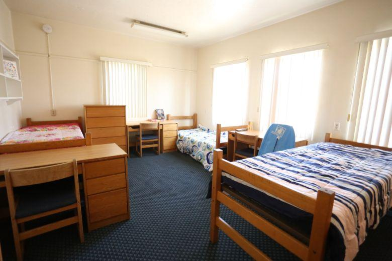 Campbell Hall: shared room