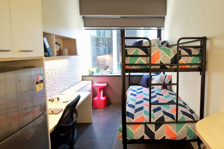 Student One: twin room