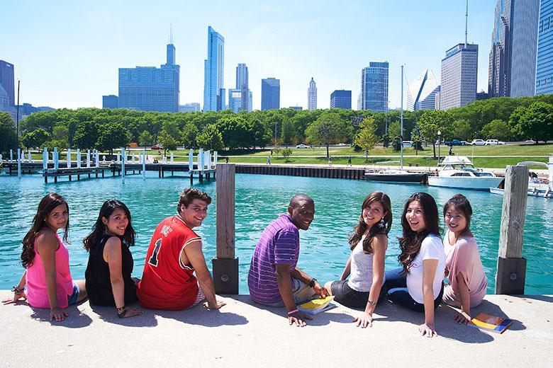 Kaplan students in Chicago