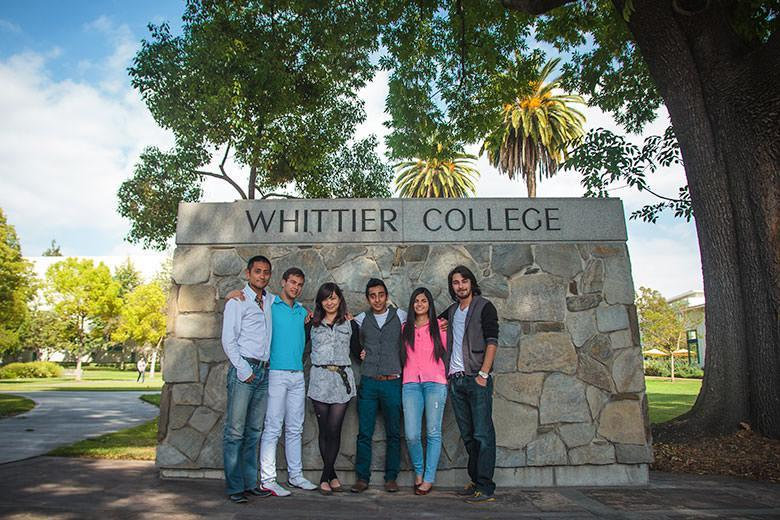 Kaplan students exploring Los Angeles Whittier