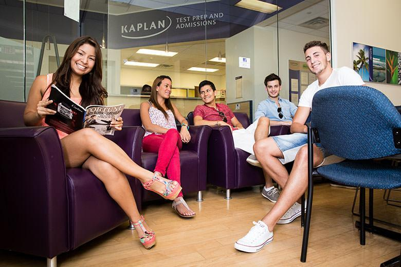 Students in Kaplan English school in Miami
