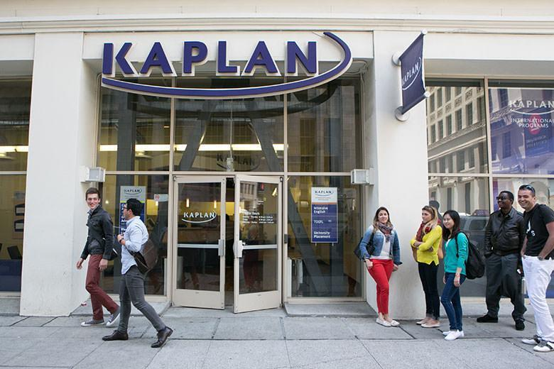 Kaplan English school in San Fransisco