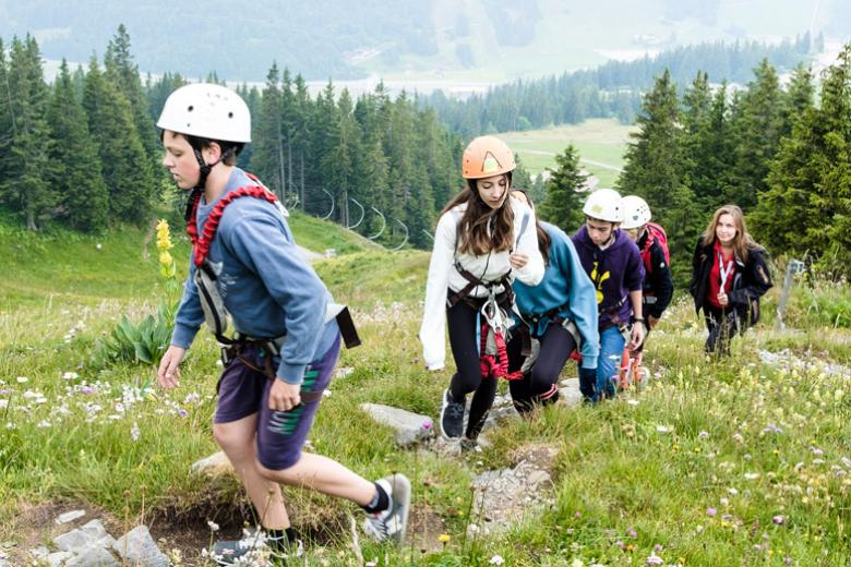 Alpadia Engelberg Summer Course hiking in mountains