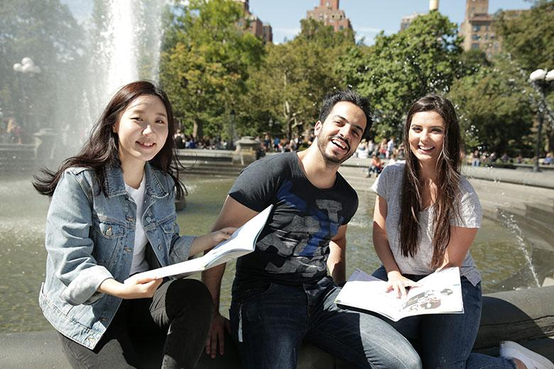 Kaplan students in New York