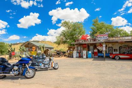 Old style cafe along Route 66 in the USA